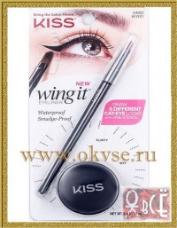 KISS CAT EYE WING IT EYELINER KIT НАБОР.