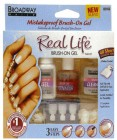 Broadway Гелевый набор <<Глянцевые ногти>> Real Life Brush - On Gel Nail Kit BGLK01